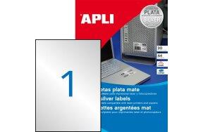 LABELS APLI N.10071 210x297 SILVER